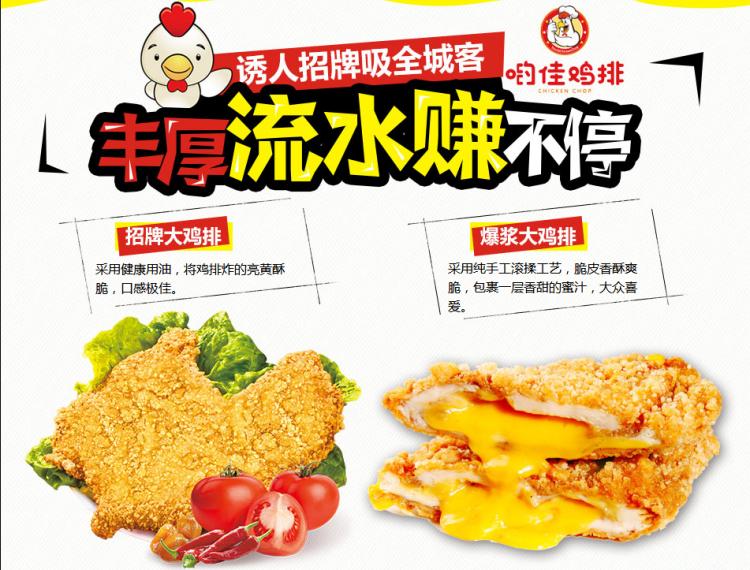 哟佳鸡排产品优势简介