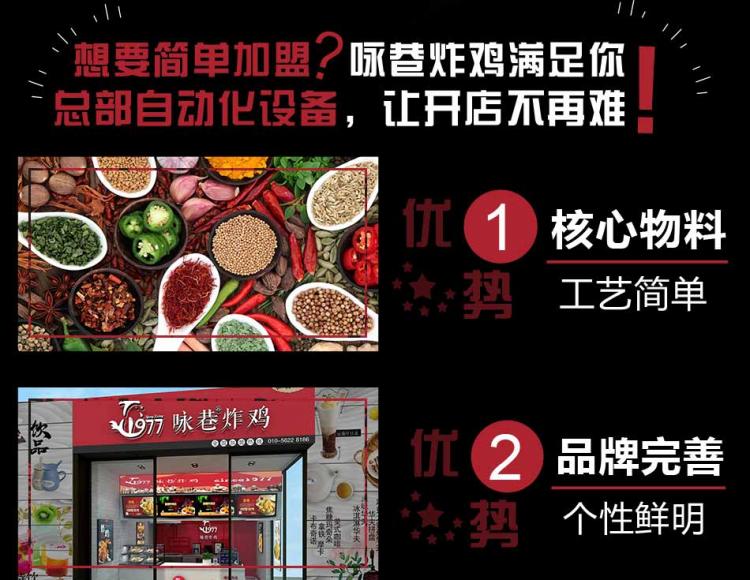 咏巷炸鸡品牌项目简介