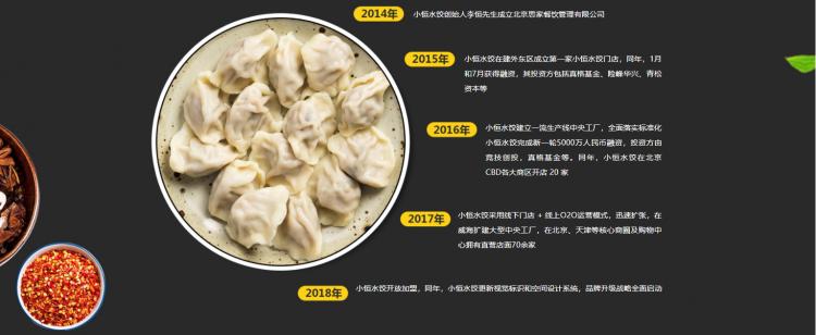 小恒水饺加盟条件