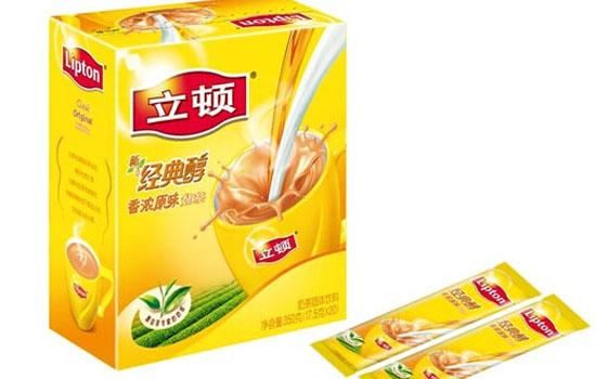 立顿奶茶品牌简介