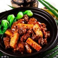 栗子黄焖鸡米饭