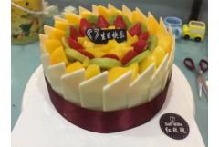 红玫瑰蛋糕