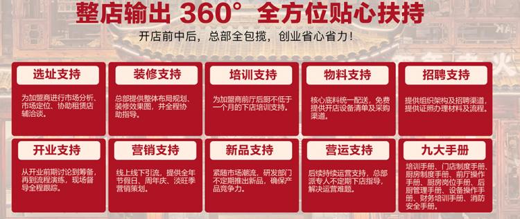 知甘季火锅菜加盟支持